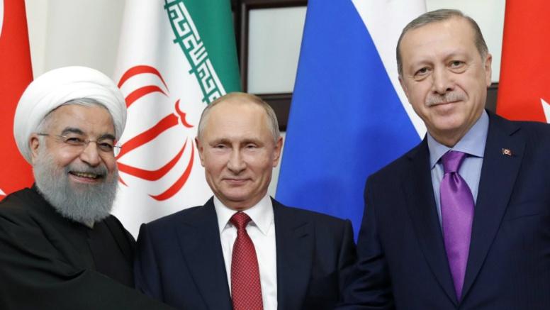 Erdogan, Poutine, Rohani : sommet à trois pour s'entendre sur la Syrie