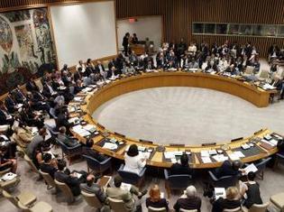 La réunion d'urgence du Conseil de sécurité s'est tenue au siège de l'ONU, à New York.