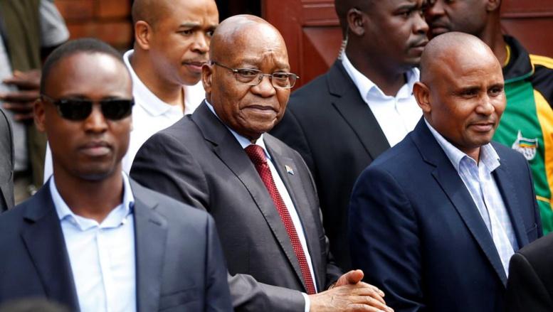 L'ex-président sud-africain Jacob Zuma devant la justice pour corruption