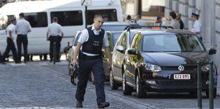 Un policier belge dans les rues de Bruxelles, le 3 juin 2010. (Reuters)