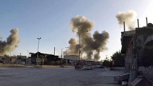 Syrie : ce que l'on sait sur la nature des bombardements sur Douma