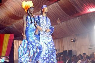 (Photos) Défilé de Mode: L'Afrique conquise par une sénégalaise.