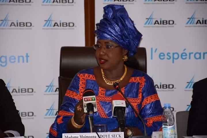 Transport aérien : la ministre Maimouna Ndoye Seck s'est rendue à Rabat pour démarcher un partenariat
