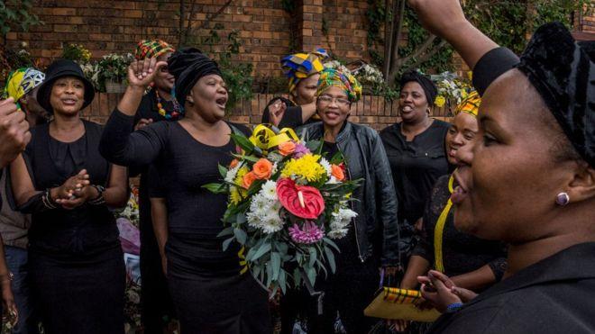 AfSud : obsèques de Winnie Mandela