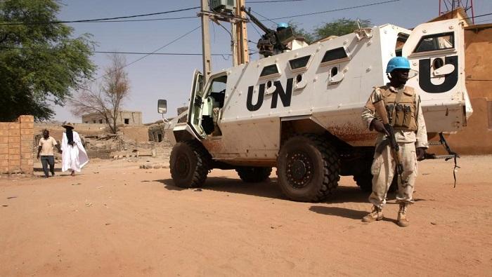 L'ONU et les soldats français visés par une attaques