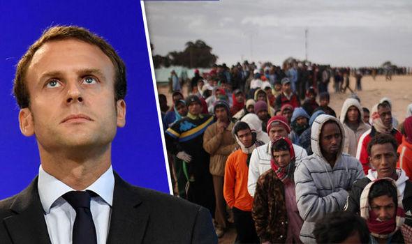 """France : Macron annonce un """"programme européen"""" pour financer les collectivités qui accueillent les migrants"""