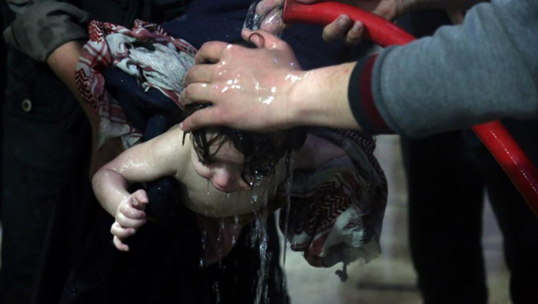 Les Etats-Unis accusent Poutine et Bachar el-Assad d'avoir effacer les preuves d'attaques chimiques