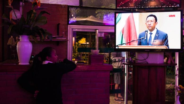 Discours de fermeté du président malgache après des violences meurtrières