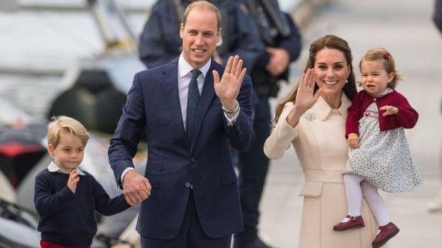 Nouveau garçon dans la famille royale de Cambridge