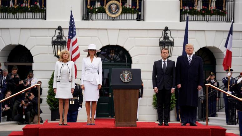 Maison Blanche : Trump et Macron affichent leur amitié avant les désaccords de fond