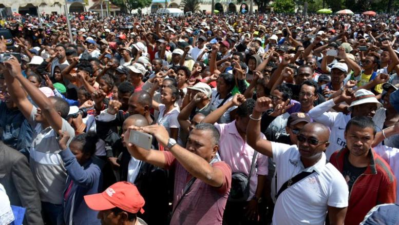 Madagascar: les manifestants réclament la démission du président