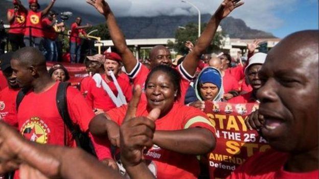 Violentes manifestations en Afrique du Sud