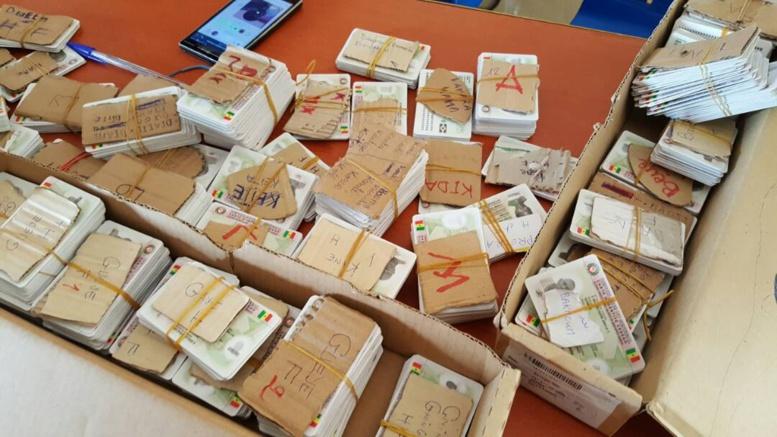 Un million de cartes d'électeurs bloquées à l'Ecole nationale de police :  le FPDR crie au scandale et...