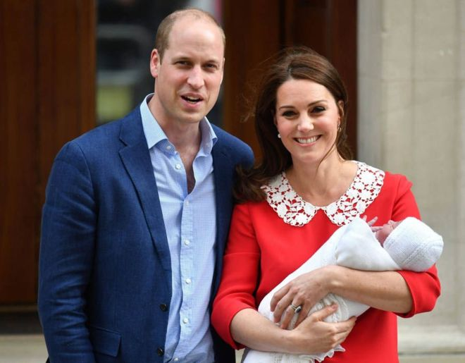 Ca y est ! William et Kate ont donné un nom à leur 3e enfant