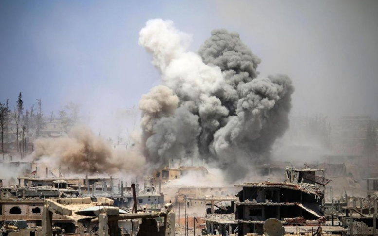 Syrie: 17 civils tués dans des bombardements du régime sur le sud de Damas