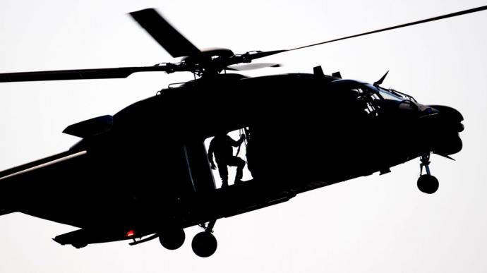 Première intervention réelle d'un hélicoptère NH90 belge au Mali