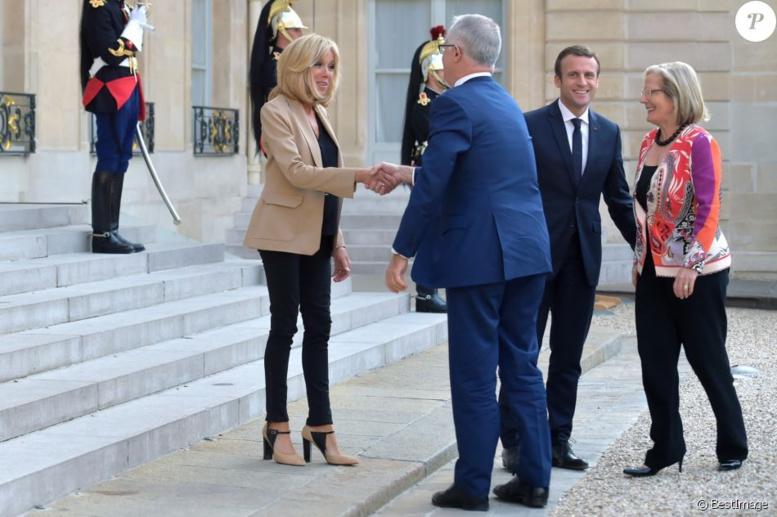 La bourde à connotation sexuelle de Macron en parlant de la femme du PM australien