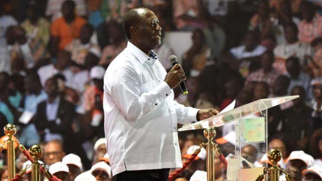 Ouattara annonce un gouvernement RHDP