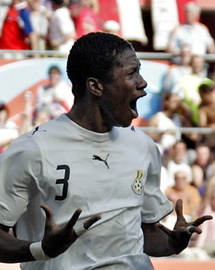 Foot-CM: Gyan assume son échec
