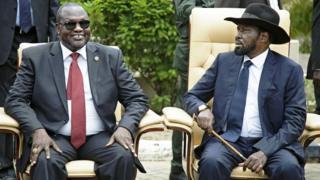 Salva Kiir invite Riek Machar à rentrer
