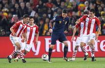 Foot-CM:Villa envoie l'Espagne en demi-finale