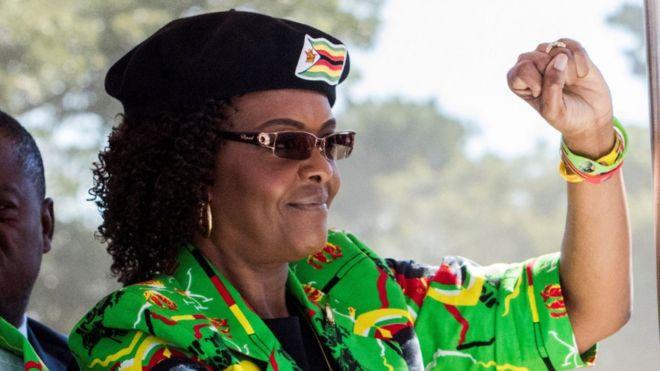 L'immunité diplomatique de Grace Mugabe contestée