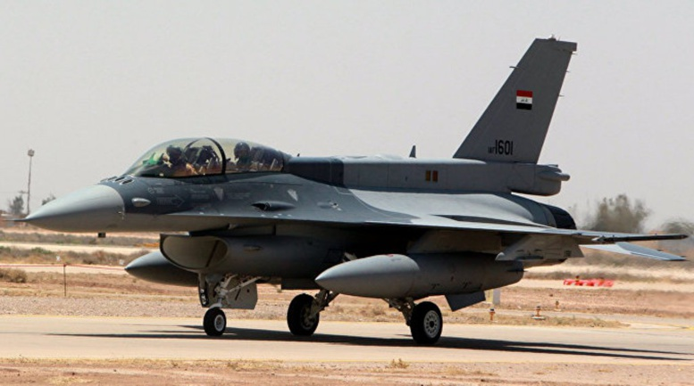 Des chasseurs irakiens auraient frappé un site de Daech en Syrie