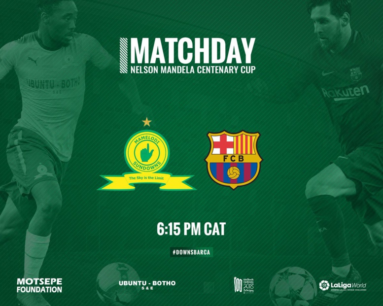Match amical : Mamelodi Sundowns reçoit FC Barcelone ce jeudi, Iniesta titulaire