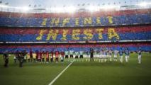 Dernière journée de la Liga : Camp Nou rend un dernier hommage à Iniesta