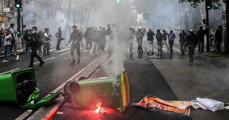 130 personnes interpellées à Paris dont 101 dans un lycée occupé