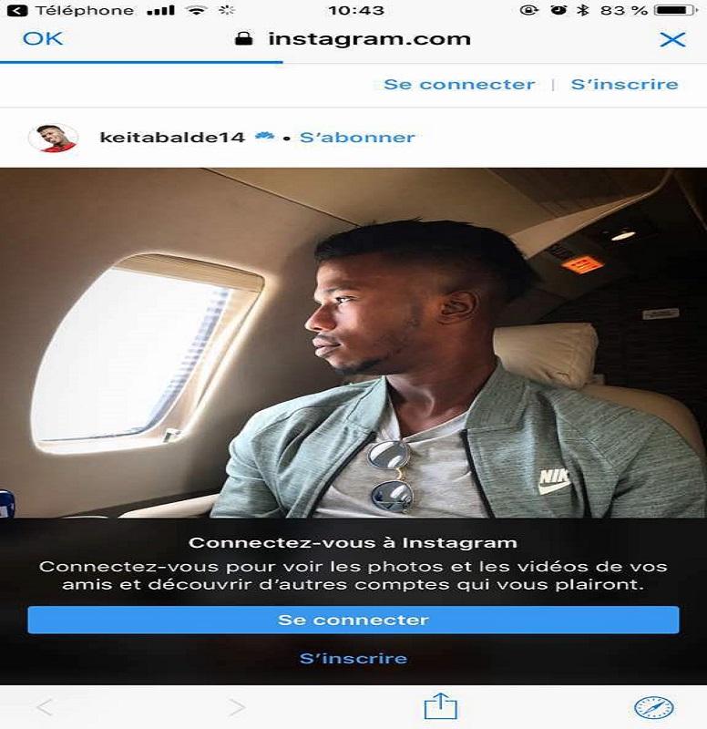"""Regroupement des """"Lions"""" : Diao Baldé Keita arrive"""