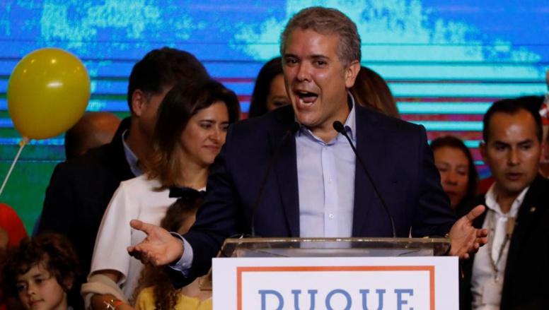 Colombie: Ivan Duque, en tête, et Gustavo Petro s'affronteront au second tour