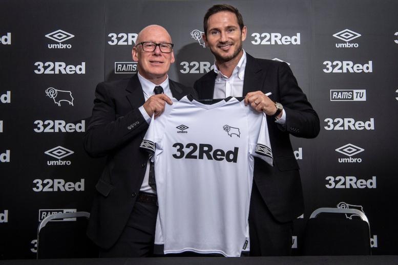 Derby County : Lampard nommé entraîneur (off.)