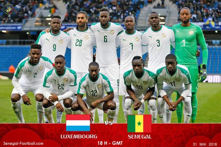 Sénégal vs Luxembourg : les deux équipes font (0-0) à la mi-temps