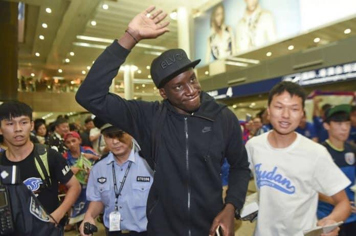 Demba Ba de retour à Shanghaï Shenhua