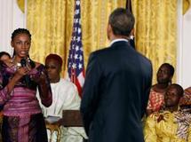 Le président Obama ouvre la Maison Blanche à l'Afrique de demain