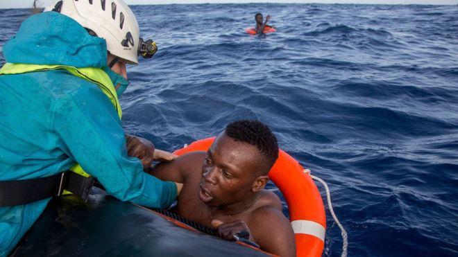 Six trafiquants de migrants sanctionnés par l'ONU