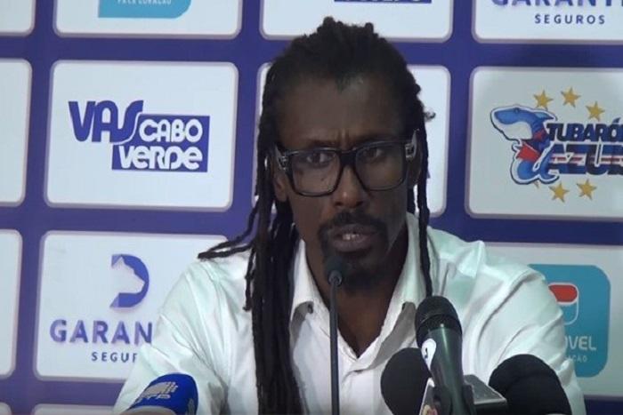 Défaite des « Lions » : Aliou Cissé regrette le résultat et tire sur l'arbitre