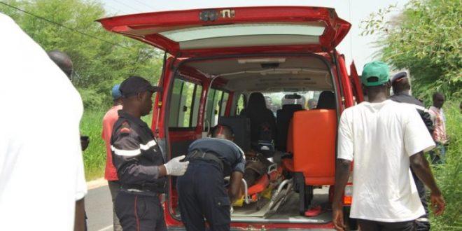 Sandiara : un homme d'une cinquantaine d'années mortellement renversé par un camion