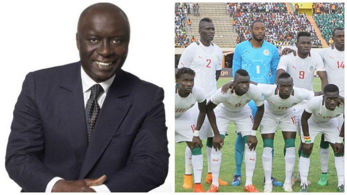 """Idriss Seck s'adresse aux """"Lions"""" : """"minimum quart de finale, objectif: demi !"""""""