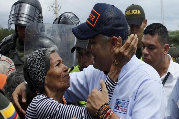 Présidentielle en Colombie: au cœur de la crise migratoire, Cúcuta vote Duque
