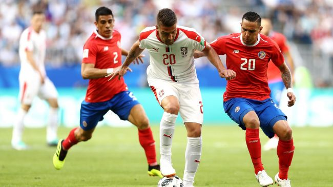 La Serbie s'impose face au Costa Rica (1-0)