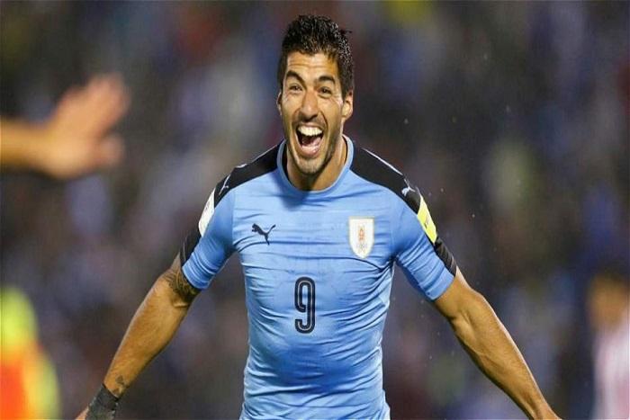 #CM2018 : Luis Suarez ouvre le score pour l'Uruguay face l'Arabie Saoudite