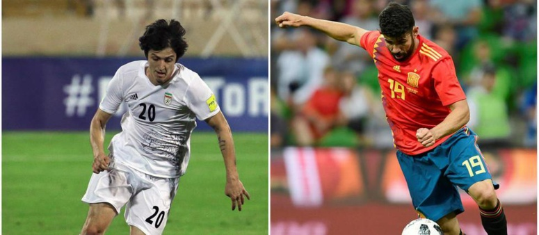 #CM2018-Iran-Espagne (0-0) : C'est la mi-temps
