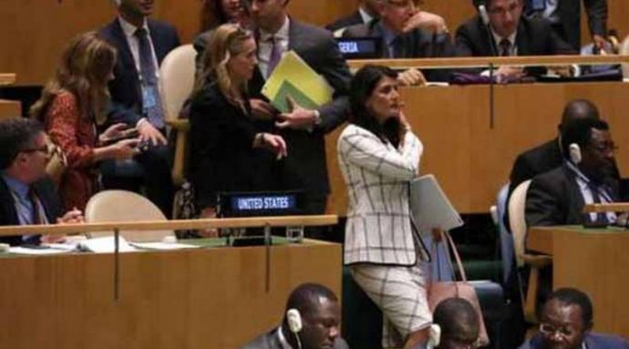 Les États-Unis claquent la porte au Conseil des droits de l'homme de l'ONU