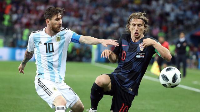 Mi-temps Croatie-Argentine : Messi et ses coéquipiers sans solution (0-0)