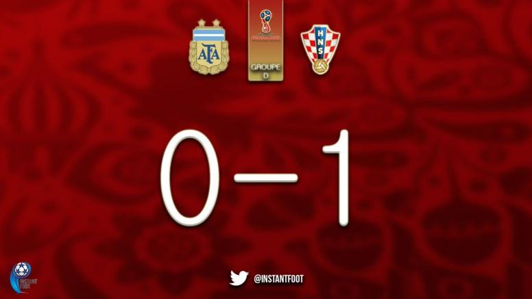 La Croatie ouvre le score sur une boulette de Caballero (1-0)