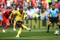 #CM2018 : la Belgique mène déjà par (2-1) face à la Tunisie...avec un penalty litigieux