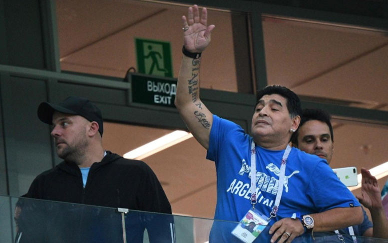 Coupe du monde : Maradona offre 10 000 dollars pour trouver celui a annoncé sa mort