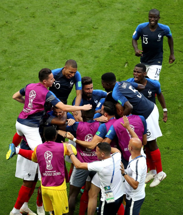 #FRAARG : La France en quart de finale (4-3)
